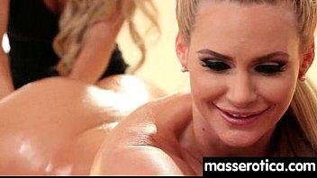 lesbian massage spy Rachel starr leather
