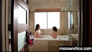spy massage lesbian Maid hairy pussy