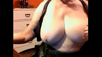 boobs while sex milking Aunty with 3boy