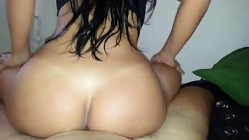 ass naibour big Girl gets fucked hard on bed
