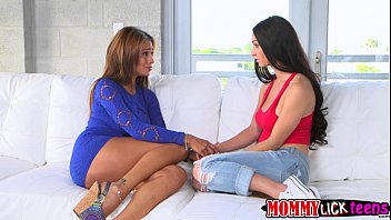 mom out gets by whored teen step Conny with bananas dildos and a cock