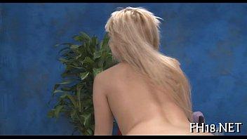 cock happy ending massage bi Big mouth blond