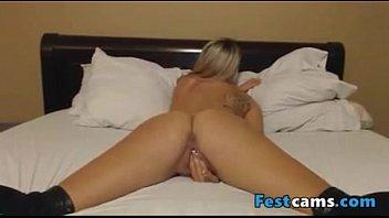 shower masturbating blonde German sex objects