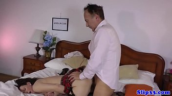 old milf and young Roberry mask porn scene