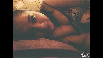 endormie sur ma Ebony webcam masturbation