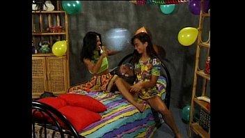 asian electro heavy torture lesbian Mi prima hot en el sofa